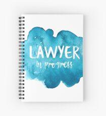 Lawyer in Progress Spiral Notebook