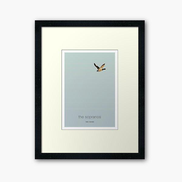 Duck Shoot - The Sopranos Framed Art Print