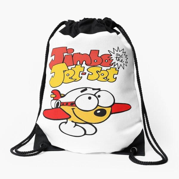 Jimbo and the Jet Set Drawstring Bag