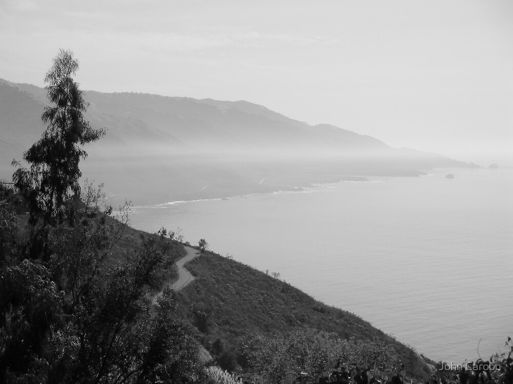 Big Sur coast line by John Caroon
