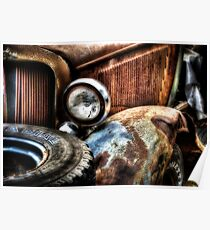 """""""The Front Fender""""  Rotting away series.. Poster"""