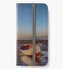 """""""Sunset  at Low Tide"""" iPhone Wallet/Case/Skin"""