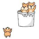 Süße Pocket Hamster von Beka Designs