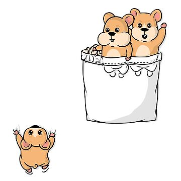 Cute Pocket Hamsters by seteki