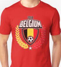 Belgium 2018 Soccer Shirt Unisex T-Shirt e711bde62