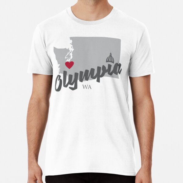 Olympia, Washington Premium T-Shirt