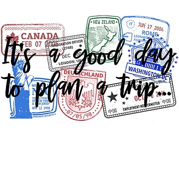 Its a good day to plan a Trip - Funny Shirts by LuxurySeller