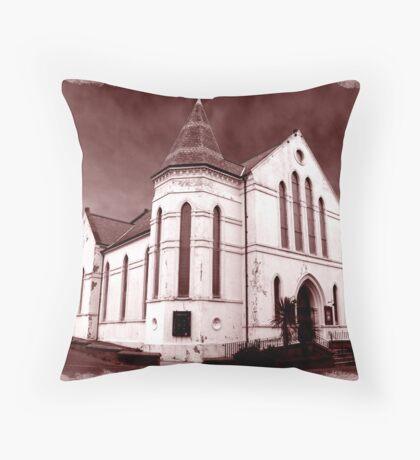 Carrickfergus Methodist Church (before demolition Dec '08) Throw Pillow