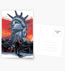 Escape From New York Postcards