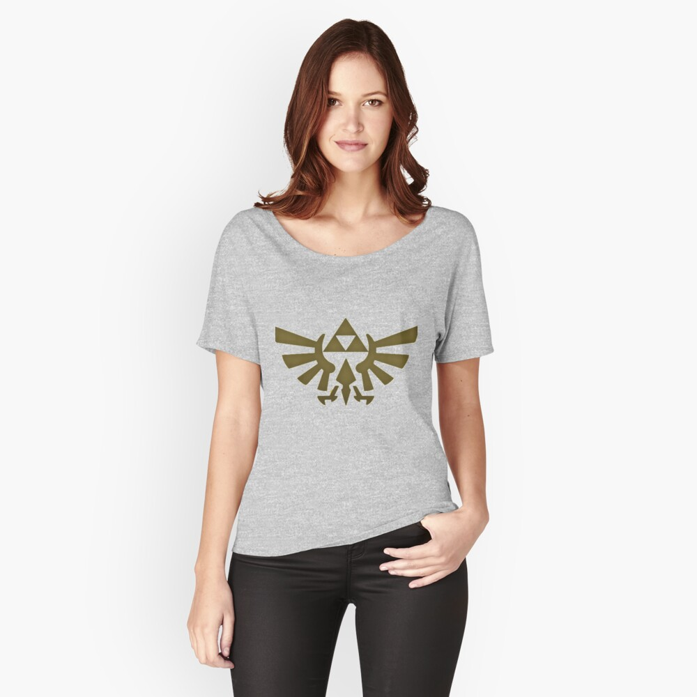 triforce Women's Relaxed Fit T-Shirt Front