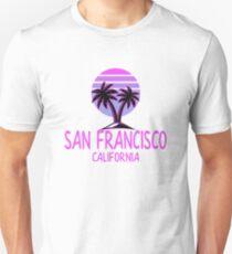 San Francisco Vintage Retro Beach Unisex T-Shirt