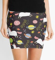 Space unicorns Mini Skirt
