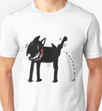 Dog Peeing Unisex T-Shirt