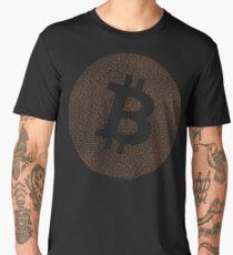 Bitcoin Obituaries Words Logo Version 2 Men's Premium T-Shirt