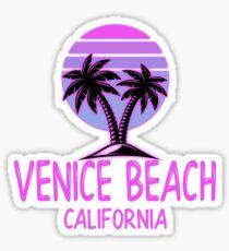 Venice Beach California Vintage Retro Beach Sticker