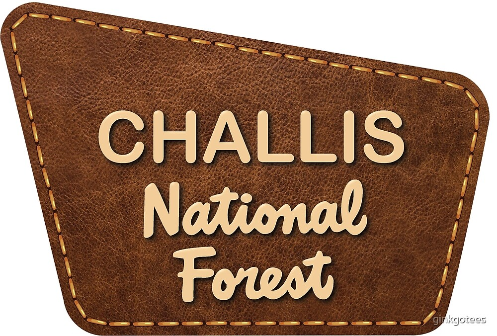 Challis National Forest Bumper Sticker by ginkgotees