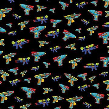 Water gun pattern by solarlullaby