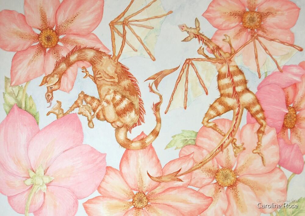 Bee Dragons by Caroline Rose