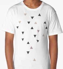 DOWN UP / scandi white / warm grey / flax / lavender Long T-Shirt