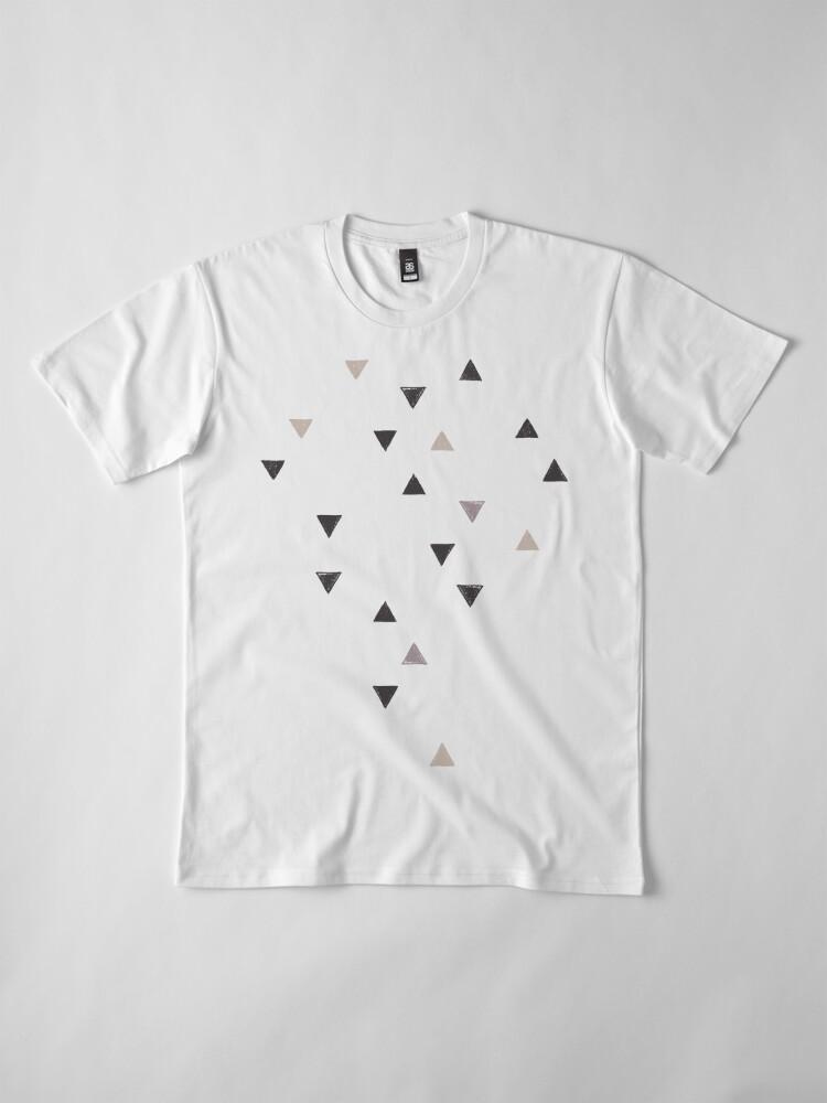Alternative Ansicht von DOWN UP / scandi white / warm grey / flax / lavender Premium T-Shirt