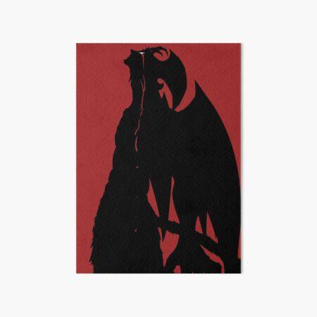 Devilman Crybaby Art Board Print