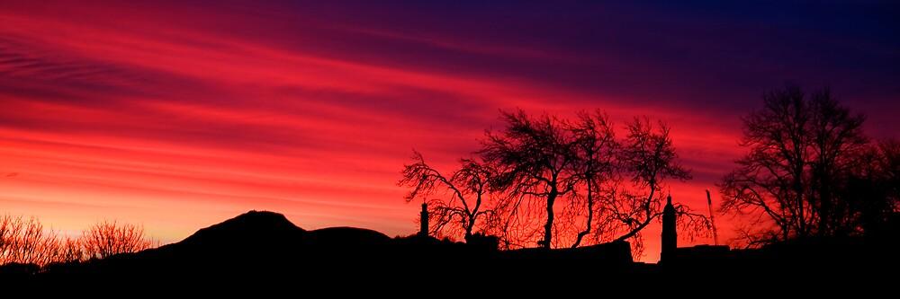 Edinburgh Winter Sunrise by Chris Clark