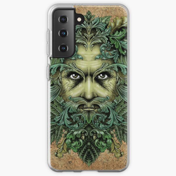 The Green Man Samsung Galaxy Soft Case