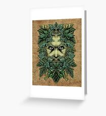 The Green Man Greeting Card