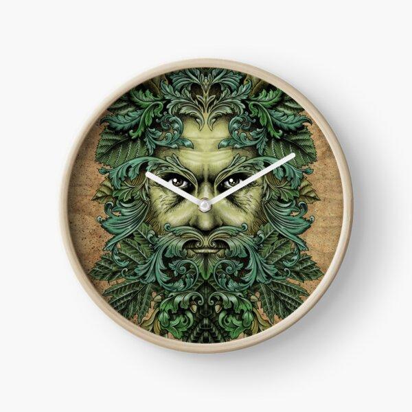 The Green Man Clock