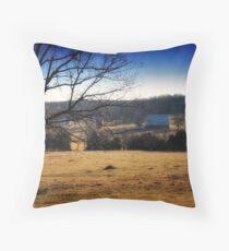 Simplistic Living Throw Pillow