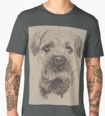 Border Terrier Men's Premium T-Shirt