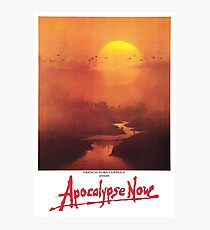APOCALYPSE NOW, Movie, Film, OLD Poster, ON BLACK Photographic Print