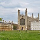 King's College Cambridge, England by emele