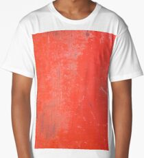 Painted & Scratched Metal Long T-Shirt