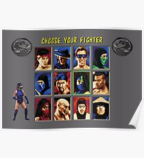 Mortal Kombat 2 – Choose Kitana Poster