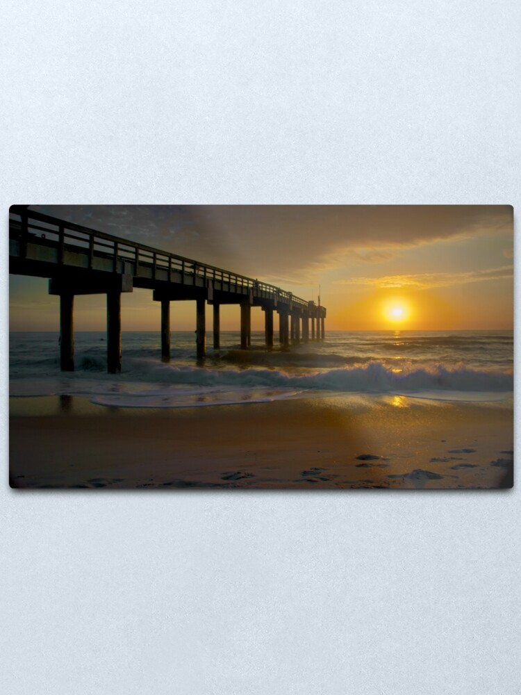 Alternate view of St Augustine Pier Metal Print