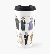 Downton A. Portraits Travel Mug