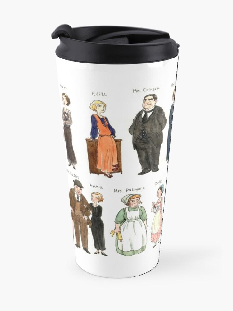 Alternate view of Downton A. Portraits Travel Mug