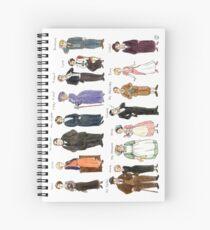 Downton A. Portraits Spiral Notebook
