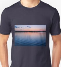 Sunset over River T-Shirt