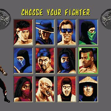 Mortal Kombat 2 – Choose Jax by PonchTheOwl