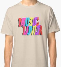 Music Lover Classic T-Shirt