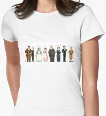 Downton-downstairs Women's Fitted T-Shirt