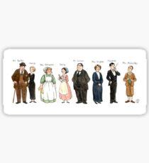 Downton-downstairs Sticker