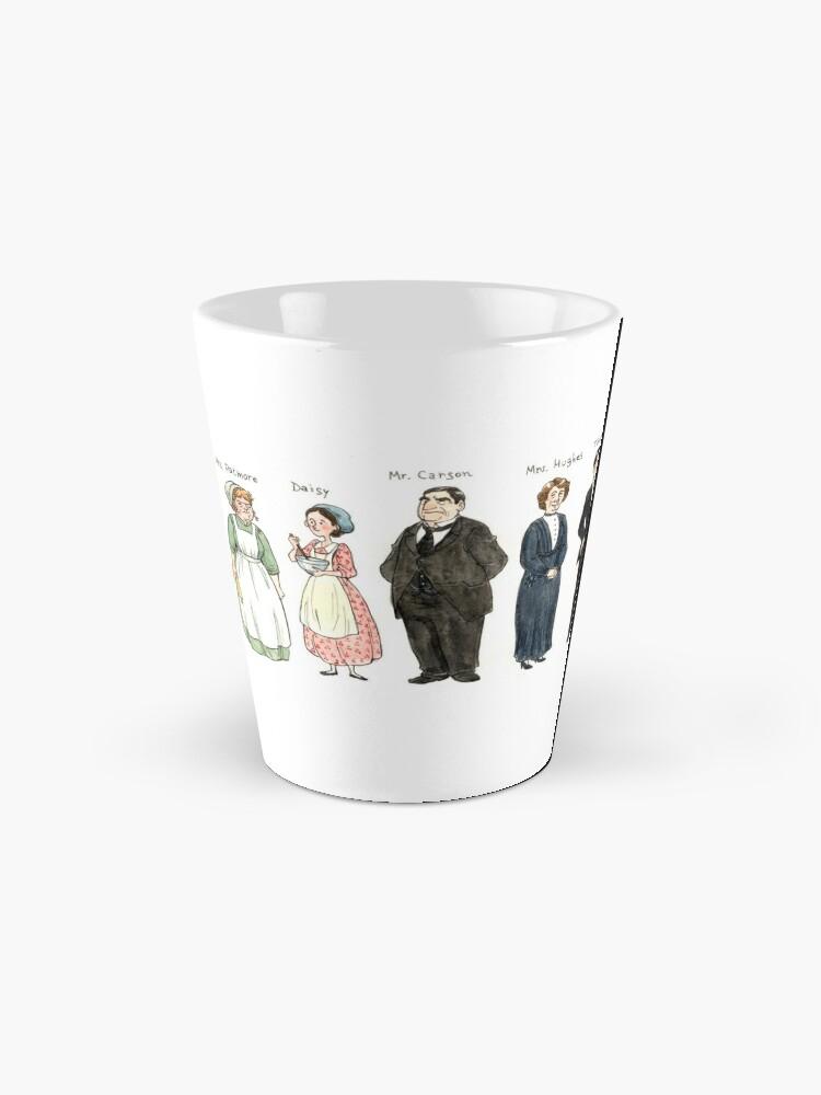 Alternate view of Downton-downstairs Mug