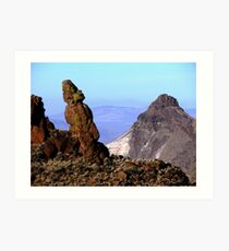 Over Looking Eastern Oregon Art Print
