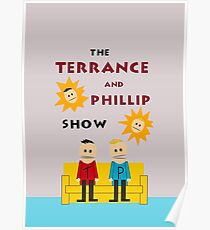 South Park Eric Cartman's Room Terrance and Phillip Poster
