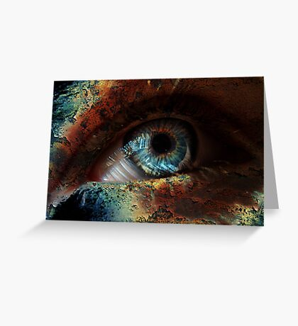 Spooky Eye Greeting Card