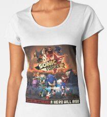 Sonic Forces Original Soundtrack - A Hero Will Rise Women's Premium T-Shirt