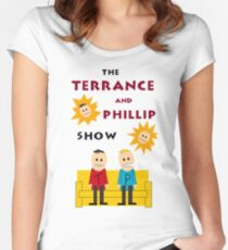 South Park Terrance and Phillip Women's Fitted Scoop T-Shirt